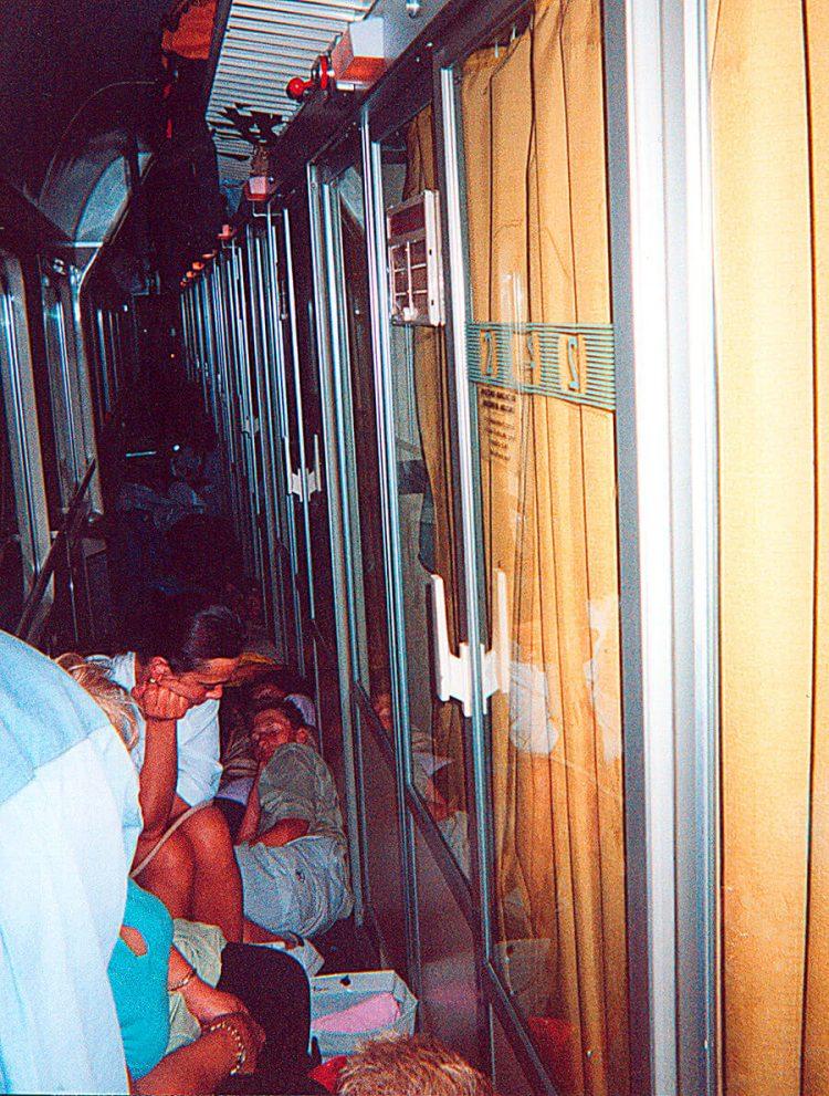 Un viaggio allucinante, cronaca di una notte in treno