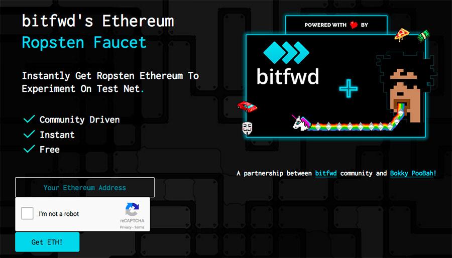 Ottenre qualche Ethereum per Ropsten Network
